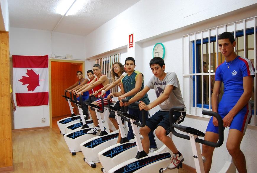 equipo entrenamiento 2010