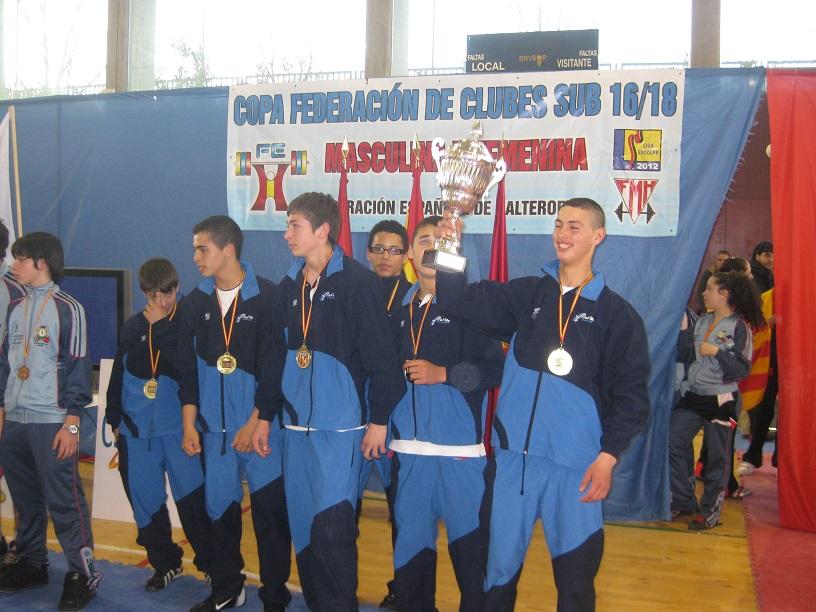 campeones de España sub 16, febrero 2010