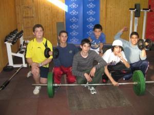 gimnasio en la casa de la juventud- 2008