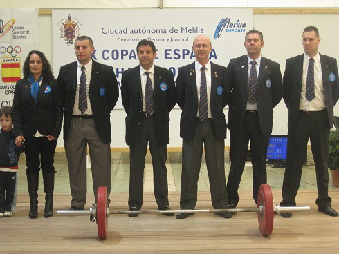 jueces copa España- 2011
