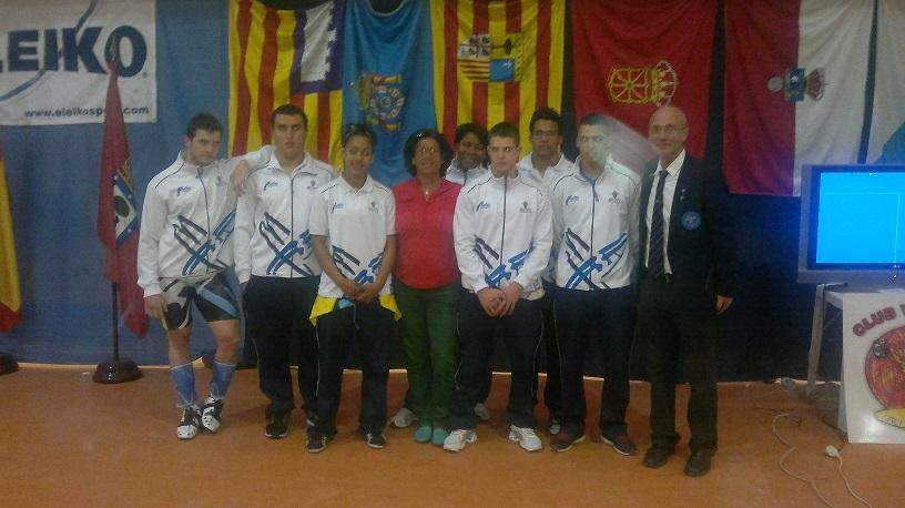 CAMP. ESPAÑA JUNIOR Y ABSOLUTO- 2013